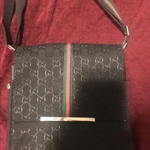 Gucci side bag men and women